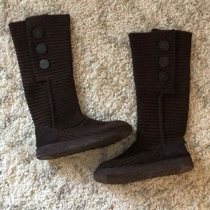 Women's Ugg sweater boots